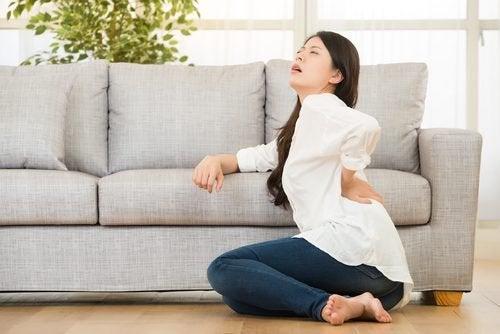 Біль у снижній частині спини
