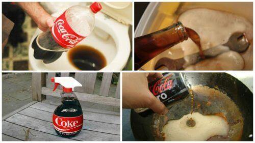 Дізнайтеся 8 цікавих способів використання кока-коли вдома