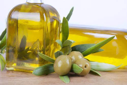 лимон та оливкова олія