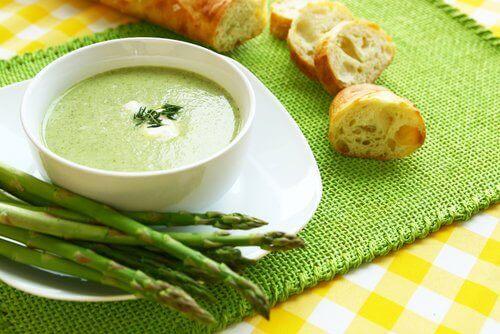 супи для схуднення зі спаржею