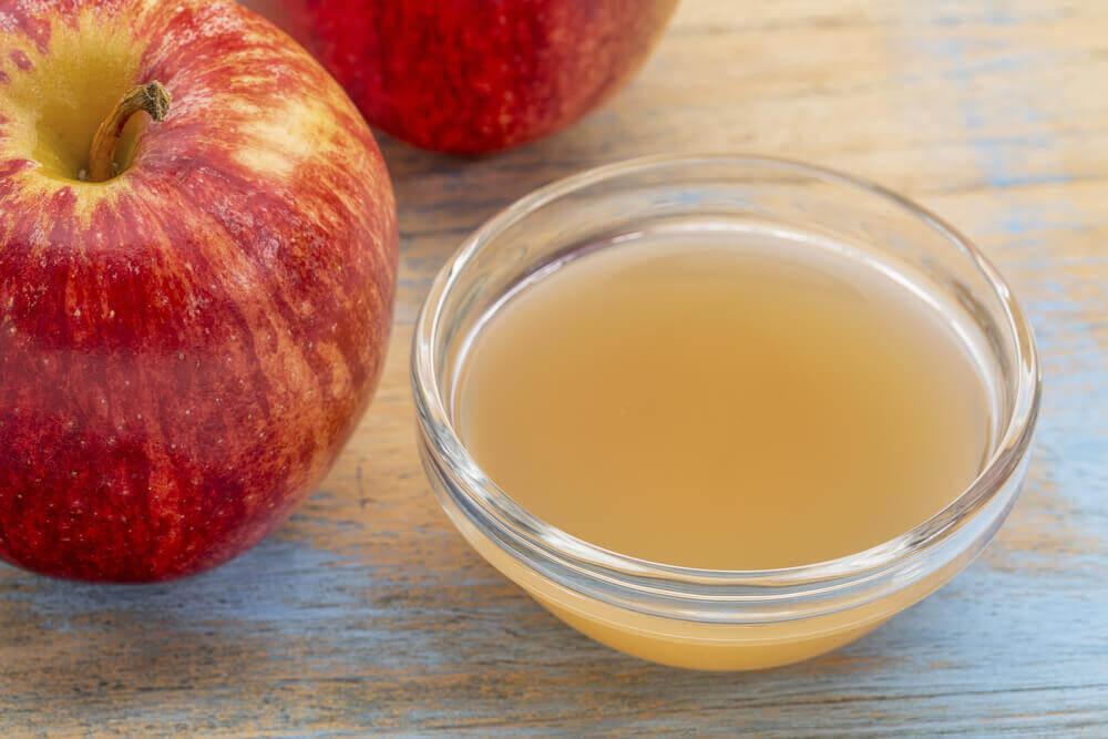 яблучний оцет лікує стригучий лишай