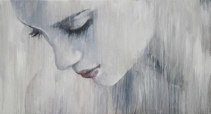 дівчина в депресії