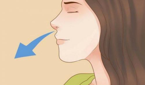виконання дихальних технік для сну