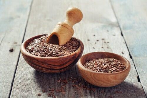 насіння льону та креми для лікування псоріазу