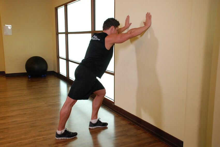 розтягнення ніг для лікування підошовного фасціїту