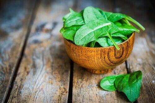 шпинат для схуднення
