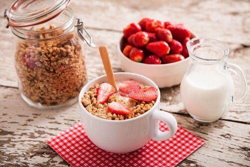 сніданок для плоского живота