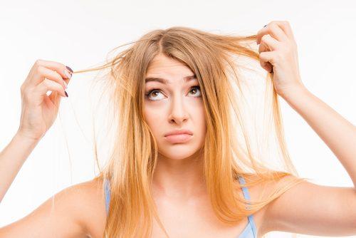 тонке волосся свідчить про дефіцит білків