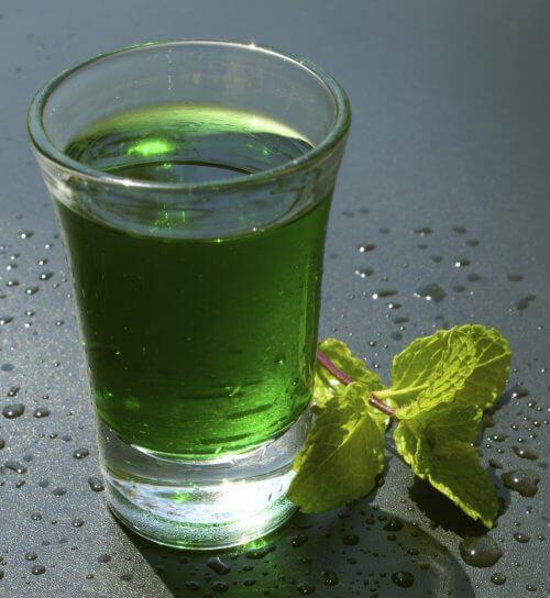 спосіб приготування зеленої води