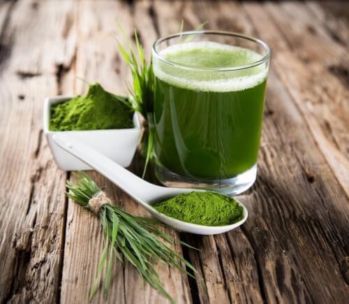 зелена вода для детоксикації вашого тіла