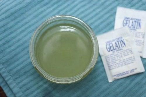 користь маски з желатину