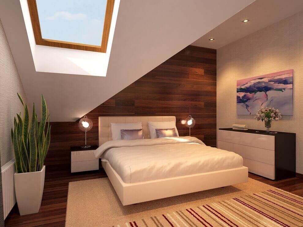 чиста кімната з рослинами
