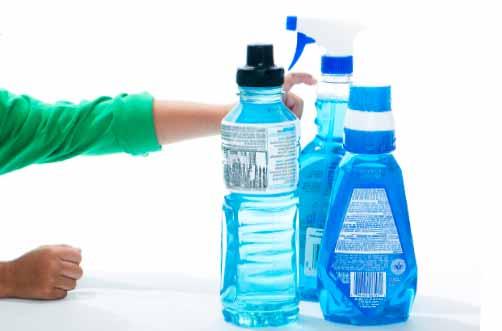 пластикові пляшки потрібно дезинфікувати