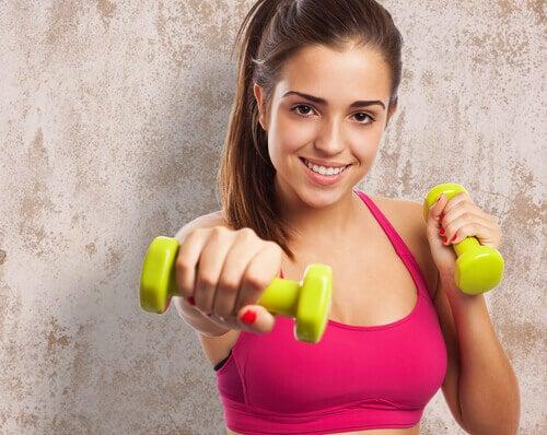 вправи щоб мати худі руки