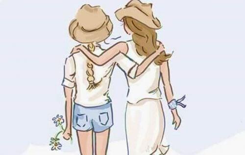 переваги жіночої дружби