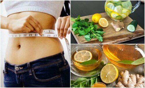 Як позбутися зайвої ваги та здуття за допомогою імбиру та лимона