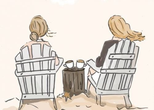 жіноча дружба корисна
