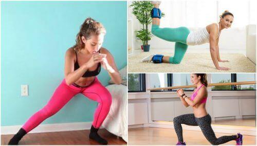 5 вправ для пружних і міцних сідниць