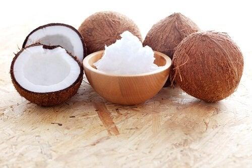 домашній гель з кокосової олії