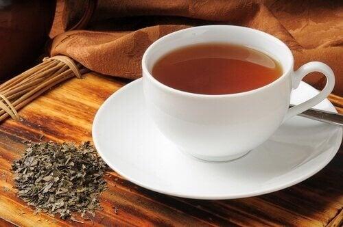 лікування газів чаєм