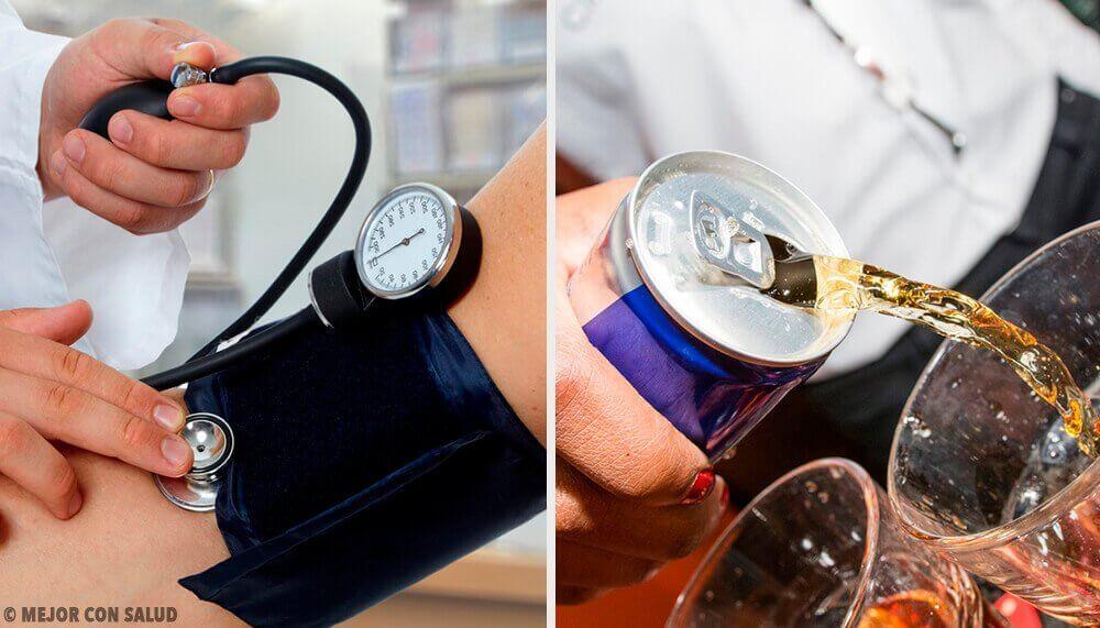 Напої, які підвищують кров'яний тиск