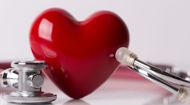 серце страждає через високий кров'яний тиск