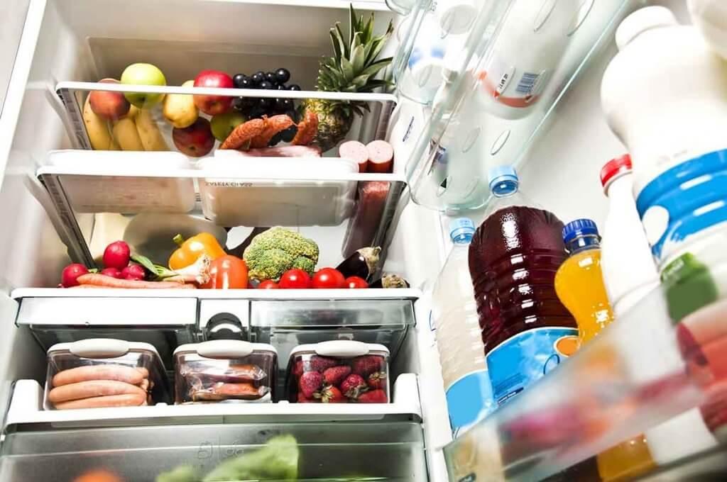 лимони усувають запахи у холодильнику
