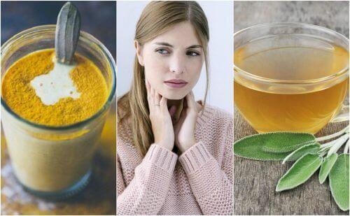 6 лікувальних засобів для хворого горла