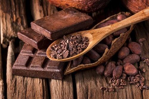 какао як складова поживного сніданку
