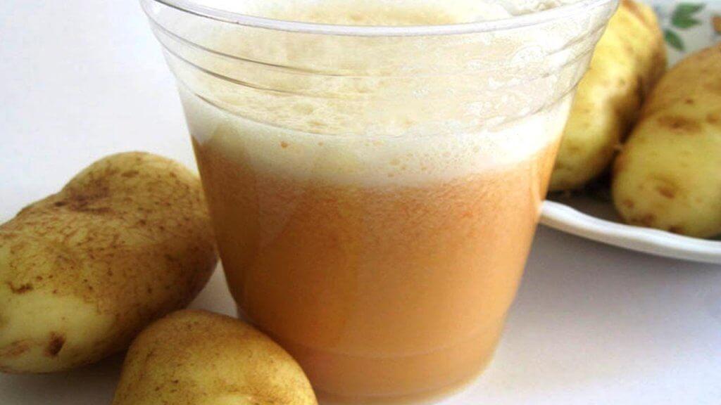картопля та олія для лікування гастриту