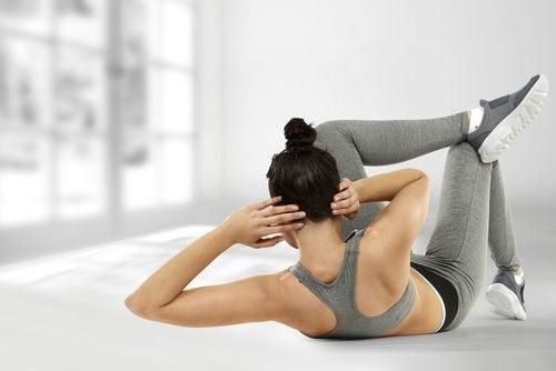 вправи на косі м'язи живота для схуднення