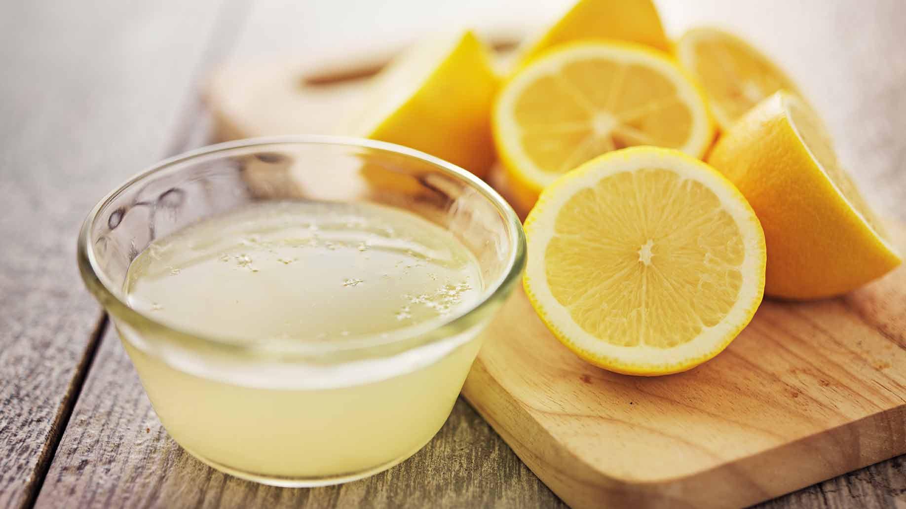 лимонний сік проти запалення печінки