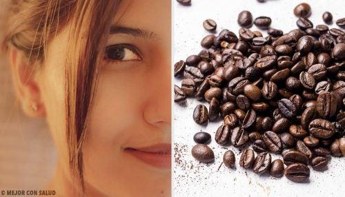 5 масок з кавою для пружної шкіри