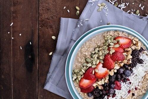 насіння є основою ситного сніданку