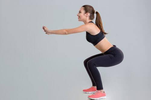 присідання для зміцнення м'язів ніг