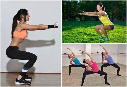 6 типів присідань для тренування ніг вдома