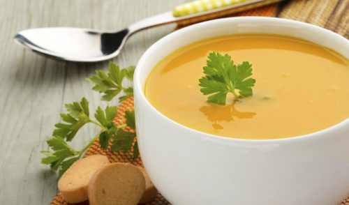 вечеряти супом
