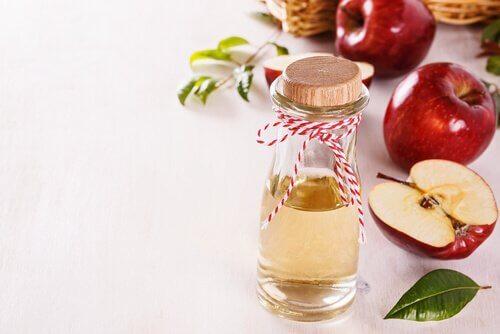 тонік з яблучним оцтом для блиску шкіри