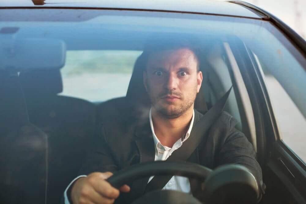 страх водіння