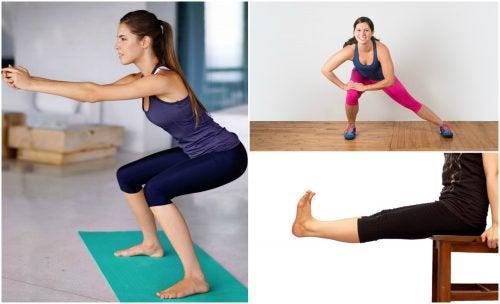 5 вправ для ніг, які можна виконувати вдома