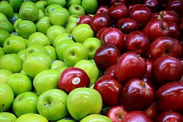 яблука для очищення товстої кишки