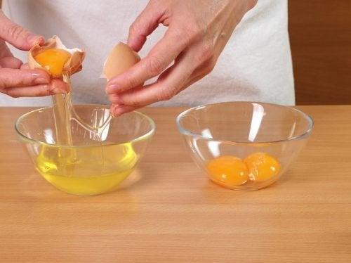 використання яєчних білків