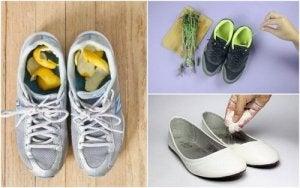 5 домашніх засобів, щоб уникнути запаху взуття