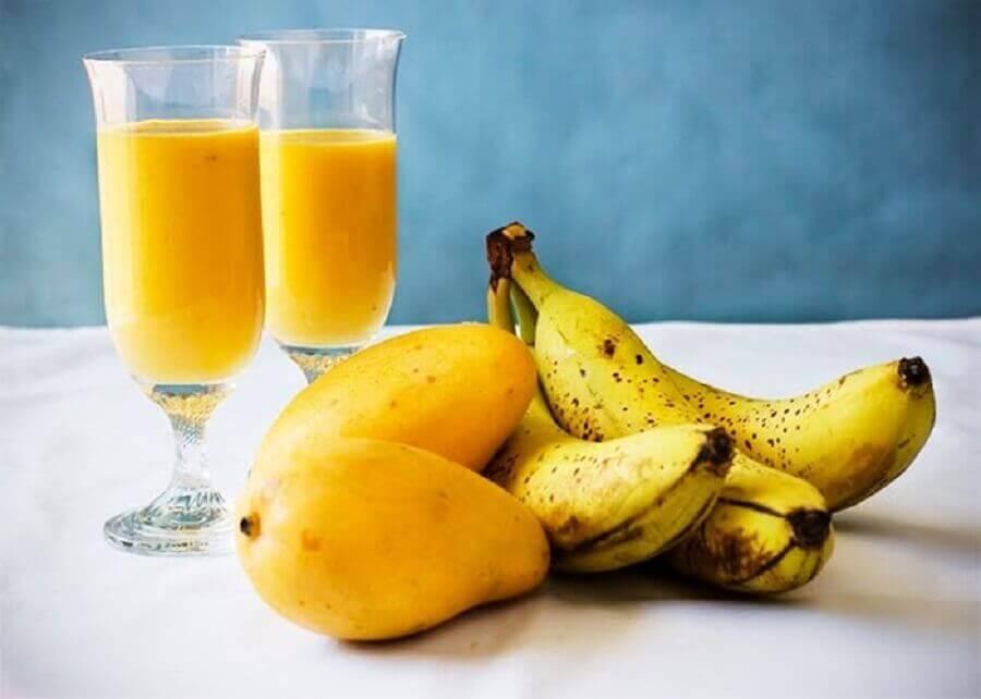 манго і банан