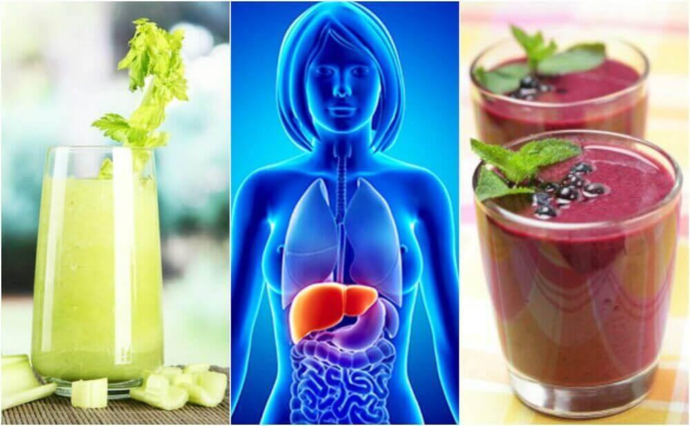4 натуральні смузі, щоб очистити печінку