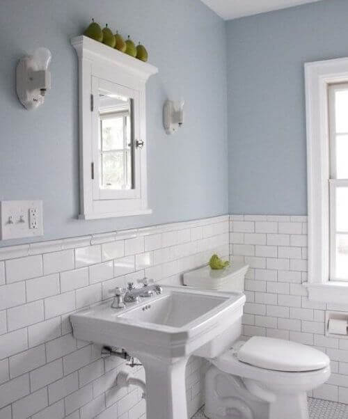 стіни ванної кімнати