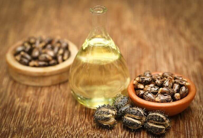 касторова олія та мед