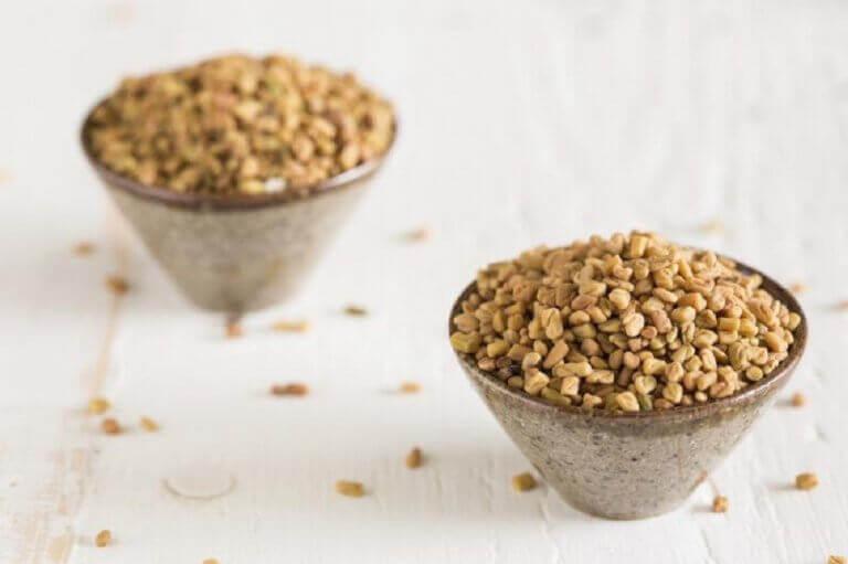 насіння гуньби для лікування тонкого волосся