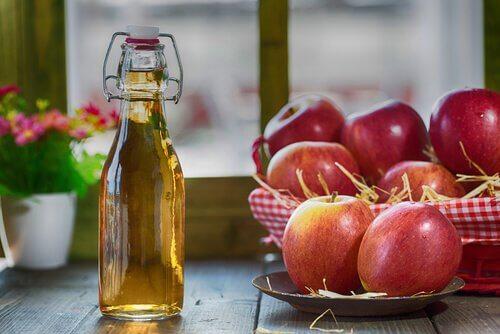 яблучний оцет допомагає позбутися набридливих комах