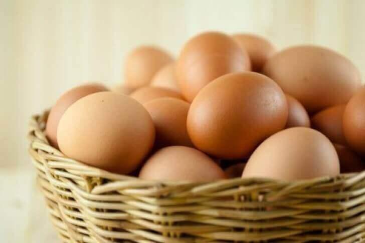 яйця для очищення крові